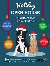 christmas open house flyer holiday open house on christmas day acct philly