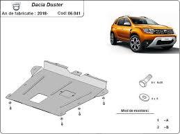 Cubre carter metalico Dacia Duster (2018-2021) - RepuestosGuadarrama