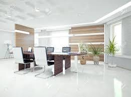 ergonomic office design. Ergonomic Office Modern Interior Design Concept Stock Photo Desk Furniture