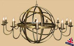 very large light wrought iron orb chandelier ceiling lights australia fittings