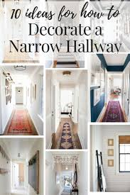 This post rounds up 10 gorgeous hallways with great ideas for the lighting,  flooring, and walls in your boring hall.