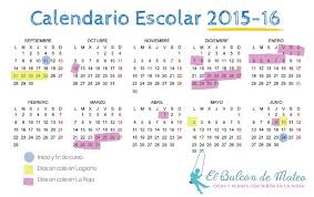 Calendarios Para Imprimir 2015 Calendario Escolar De La Rioja 2015 2016 Para Imprimir