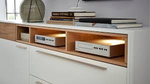 Delightful Sideboard Die Hausmarke | Il Aus Holz In Weiß Interliving Wohnzimmer Serie  2102 U2013 Sideboard 510106