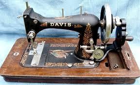 Davis Sewing Machine Models