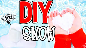 how to make fake snow in seconds diy snow science experiment you