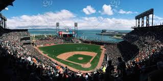San Francisco Giants Stadium View Nominated Stock
