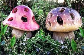 ceramic garden mushroom decor amazing of garden mushroom decor mushroom garden decorations home inspirations cute ceramic
