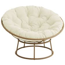 Outdoor Light Brown Papasan Chair Frame
