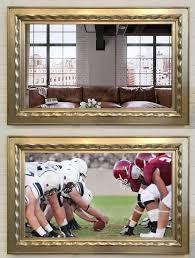 Framing A Tv Reflectel Tv Mirror In One Gk Framing Conservation Framing