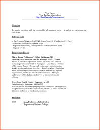 Clerical Resume Templates Impressive Clerical Resume Sample Clerical Resume Sample Clerical Resume