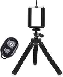 <b>Universal Compact Tripod Stand</b> - Remote Included - Flexible ...