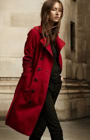 profile burberry heritage trench coat collection navy and parade red 1