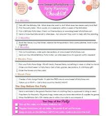 Party Planning List Miss A Beat At Your Next Party Use The Free