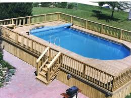 medium size of wooden pool deck kits deck pool above ground pool and deck packages above