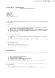 quality resumes quality control inspector resumes resume inspection mmventures co