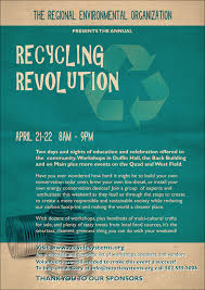 Build Your Own Flyer Recycling Symbol Club Flyer