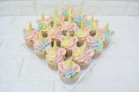 Unicorn Cupcakes At 6000 Per Set Bakers Boulevard