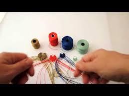 Superlon Thread Size Chart Nylon Bead Cord Size Comparison Youtube