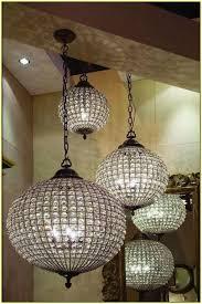 cognac antique brass crystal ball chandelier