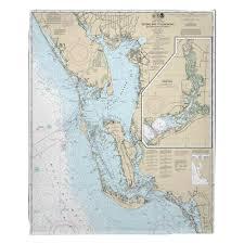 Estero Bay Fl Fleece Blanket