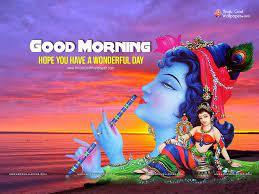 Good Morning Krishna Images In ...