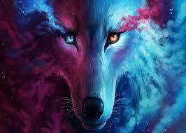 Wolf wallpaper, Galaxy wolf ...