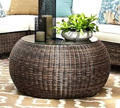 round rattan coffee table images round wicker coffee table rattan coffee table and end tables bali rattan coffee table with stools