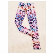 Goldsheep Tie Dye Workout Leggings Yoga Boho