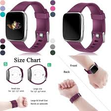 For Fitbit Versa Bands Replacement For Women Men Small
