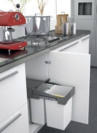 Soft Close Kitchen Cabinets I520 Series Undersink Waste Bin Soft Close Pull Out System