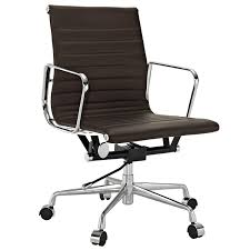 lexmod ribbed mid office. lexmod ribbed mid back office chair in genuine leather view larger lexmod r