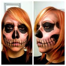awesome skull makeup 2