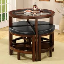 Space Saving Kitchen Table Sets Round Dining Table Set Affordable Home Long Style Scheme Luxury