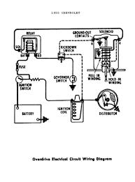 1955 power windows seats · 1955 overdrive circuit