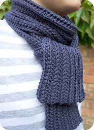 Free Mens Crochet Scarf Pattern Magnificent Men's Scarf Crochet Patterns Free Crochet And Knit