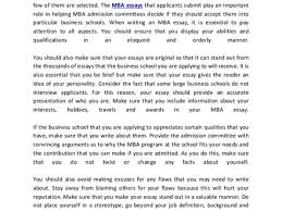 mba essay samples best mba essay examples sample essay org tips on writing a good mba essay
