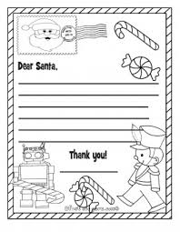 Santa Claus Making His List Coloring Index Wish List To Santa