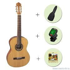 <b>Классическая гитара FLIGHT</b> C-120 NA 4/4 + чехол + тюнер + ...