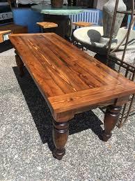 cypress dining table w turned legs 30x32x82 sarasota