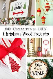 DIY Christmas Wood Crafts For An Adorable CelebrationDiy Christmas Wood Crafts