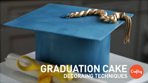Graduation Cake Ideas Modeled Sugar Cap Gumpaste Cake Decorating