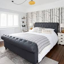 Bedroom furniture inspiration Luxurious Hotel Before And After The Original Hearth Tiles Inspired This Classic Bedroom Makeover Ideal Home Bedroom Ideas Designs Inspiration And Pictures Ideal Home