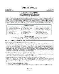 Samples Of Accounting Resume Accountant Resume Sample Sample Of