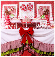 Candy Christmas dessert table.... lots of ideas for DIY projects ...