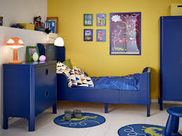 Kids Bedroom Decorating Boys Bedroom Kids Bedroom Decorations Be Equipped With Blue Bed Along