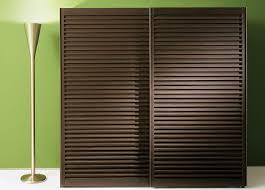 contemporary wardrobe solid wood sliding door