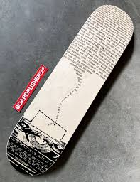 Design Your Own Skate Deck Typewriter Custom Skateboard Graphic Created By Audrey