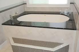 photo 1 of 10 ubatuba granite tub surrounds 1698 elberton geia granite tub surround good ideas 1