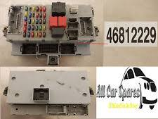 fiat punto evo car ecus computers fiat punto abarth 1 8 16v petrol manual fusebox fuse box 46812229