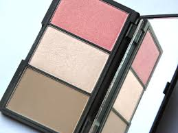 sleek face form contouring and blush palette fair sleek makeup